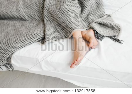 People Body Women Beauty Sleep Relax Loneliness Insomnia Concept