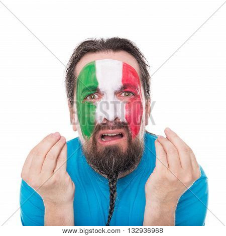 Italian Fan Is Disappointed And Sadly