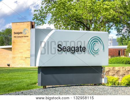 Seagate Technology Sign And Facility