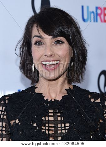 LOS ANGELES - JUN 04:  Constance Zimmer arrives to the 'UnReal' FYC ATAS Event  on June 04, 2016 in Hollywood, CA.