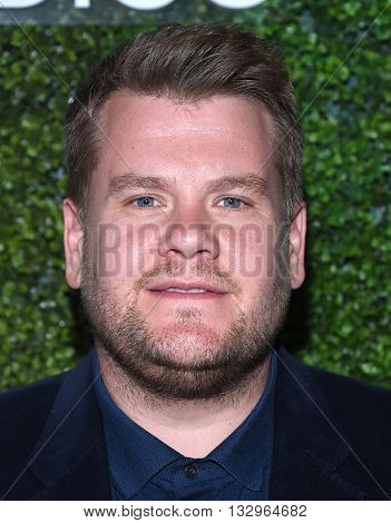 LOS ANGELES - JUN 02:  James Corden arrives to the 2016 CBS Summer Soiree  on June 02, 2016 in Hollywood, CA.