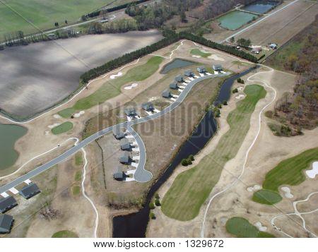 Aerial Golf Course