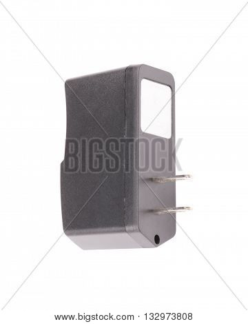 image of one American adaptor Isolated on white