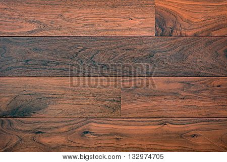 Natural dark brown wood texture for background