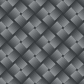 Seamless pattern. Simple stylish texture with thin lines. Regularly repeating geometrical linear grid with intersecting thin lines. Vector element of graphical design poster