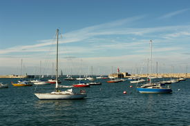 boats in dun Laoghaire