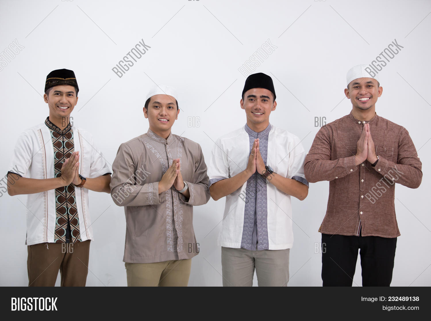 Group Muslim Man Who Image Photo Free Trial Bigstock