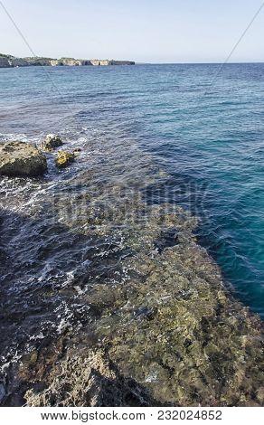 View Of The Beautiful Coastline Of Apulia