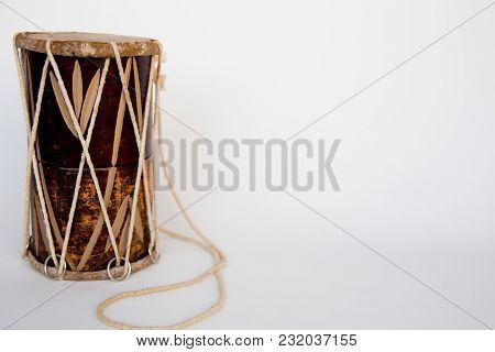 A Group Of Musical Instruments On A Table