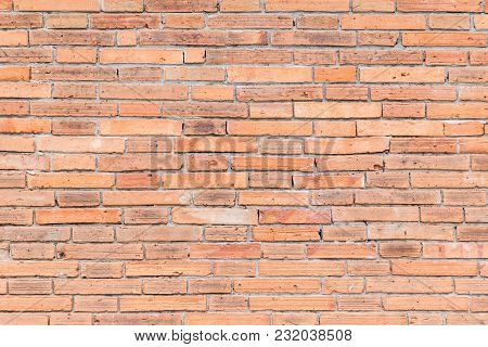 Brick Wall Texture Background For Interior Exterior Decoration And Industrial Construction Concept D