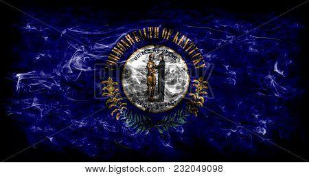 Kentucky State Smoke Flag, United States Of America
