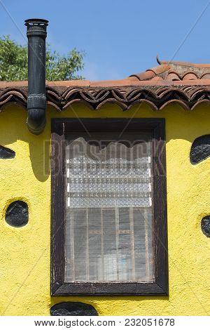 Typical Canary Island House In La Laguna, Tenerife, Spain
