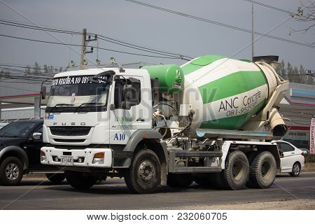 Cement Truck Of Anukul Concrete Company.