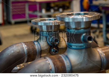 High Pressure Pipes Welded To Fittings, Ready For Mounting