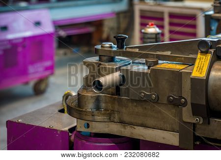 Bending Machine At Start Of Sequence In Operation