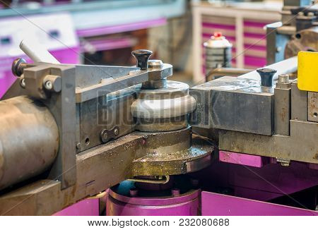 Bending Machine At End Of Sequence In Operation