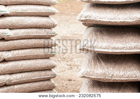 Reneable Energy - Wooden Pellets In Bags