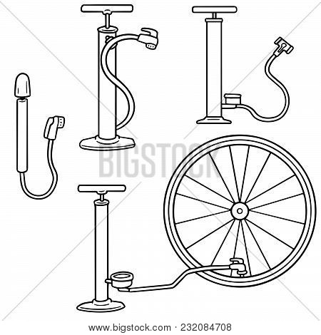Bicycle Pump Clipart