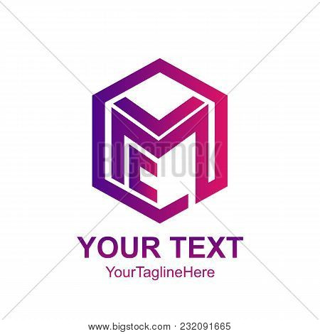 Initial Letter Lmc Logo Template Collorfull Cube Line Design For Business And Company Identity