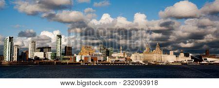 Image Of Liverpool Waterfront Taken At Day