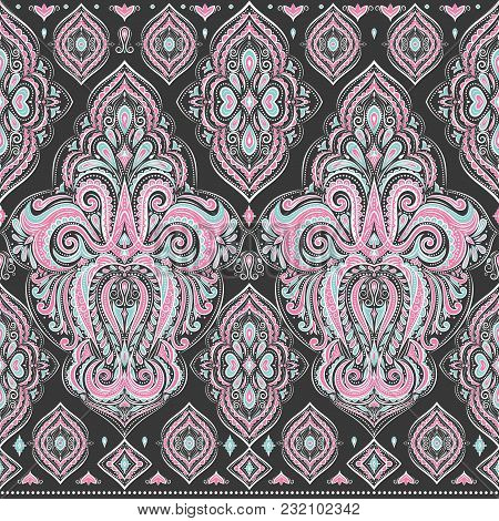 Paisley Elements. Ornament. Traditional, Ethnic, Turkish, Indian Motifs. Great For Fabric And Textil