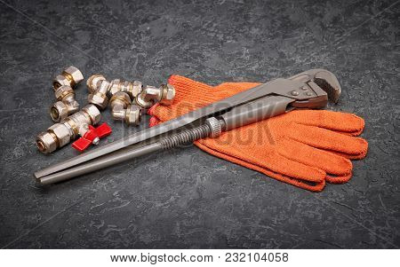 Key For Water Pipes, Plumbing Tools, Protective Gloves, Spare Parts For Water Supply, Autonomous Hea