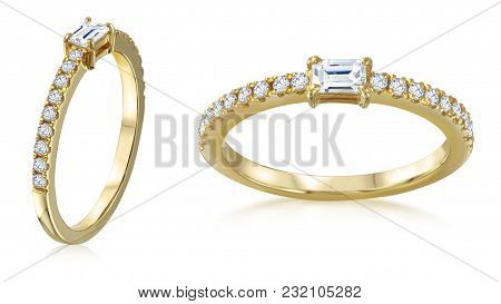 Jewelry Is Always A Wonderful Gift For The Woman. These Elegant Golden Bracelets Pair Is The Best Gi