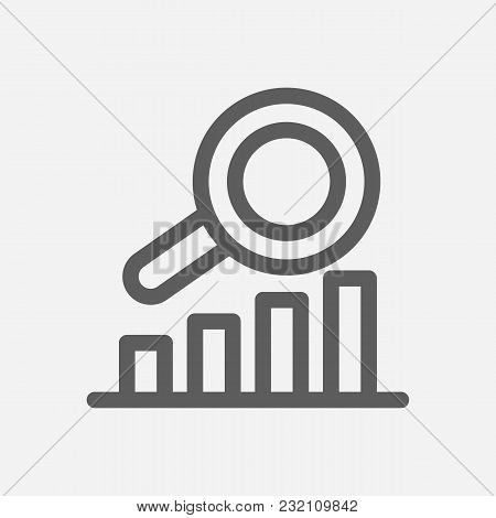 Business Expertise Icon Line Symbol. Isolated Vector Illustration Of  Icon Sign Concept For Your Web