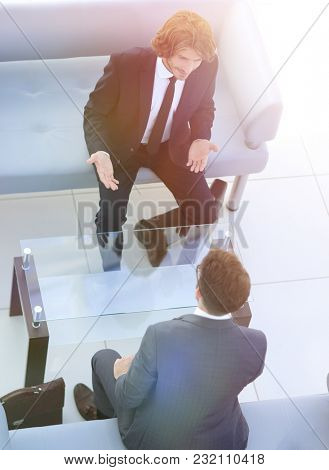 dialogue between two business people