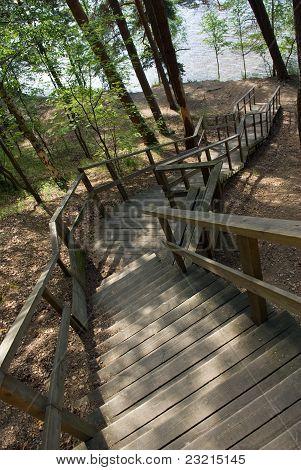 Stairway To Lake