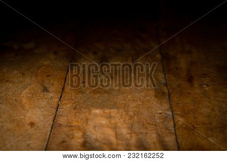 Wooden Pannel Background To Be Used For Product Photography, Background Fade To Black