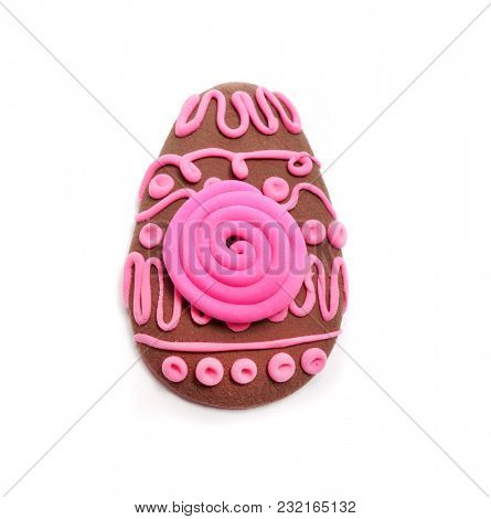 Easter. Abstraction from Plasticine. Easter decoration.