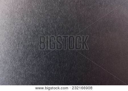 Industrial Brushed Metal Surface Close-up. Metal Stainless Background
