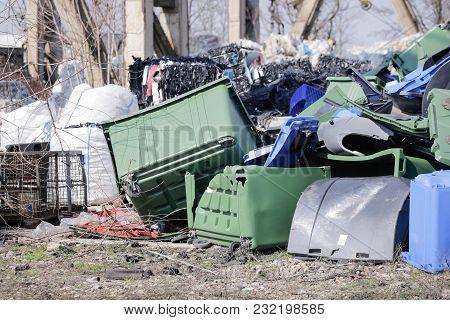 Pile Of Plastic Waste