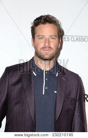 LOS ANGELES - FEB 19:  Armie Hammer at the