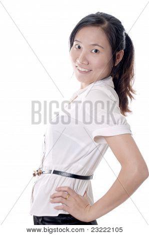 Sassy Asian Woman