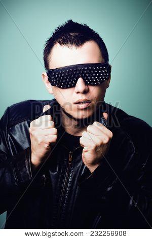 Guy In Rock Style