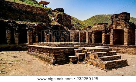 Takht-i-bhai Parthian Archaeological Site And Buddhist Monastery, Pakistan