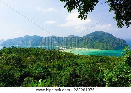 Vacation Wallpaper Palm Island