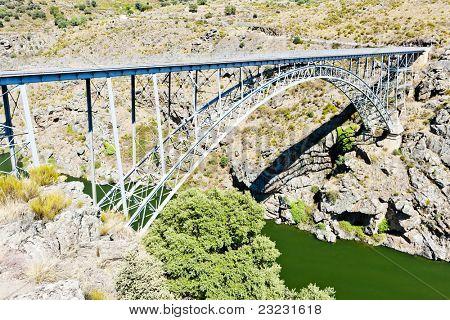 Requejo Bridge, Castile and Leon, Spain poster