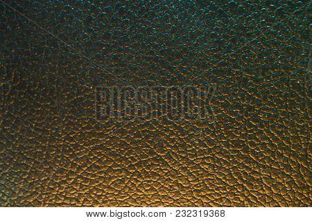 Excellent Color, Leather Background, Texture, Close Up