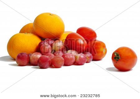 fruit with vitamin C