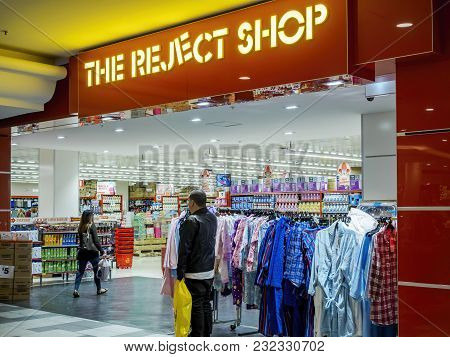 Sydney, Australia - Jun 16, 2017: The Reject Shop Storefront At Chatswood Westfield Center. The Fran