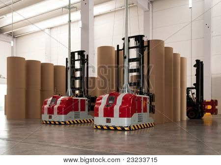Carrello elevatore robotico