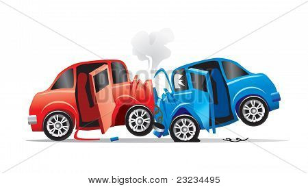 2 Carros caiu