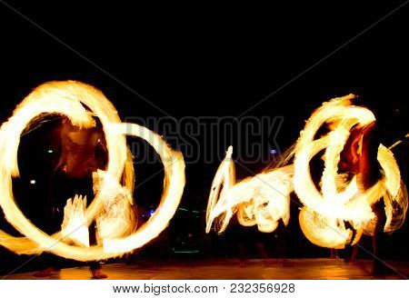 Flaming Trails Gasoline Dance