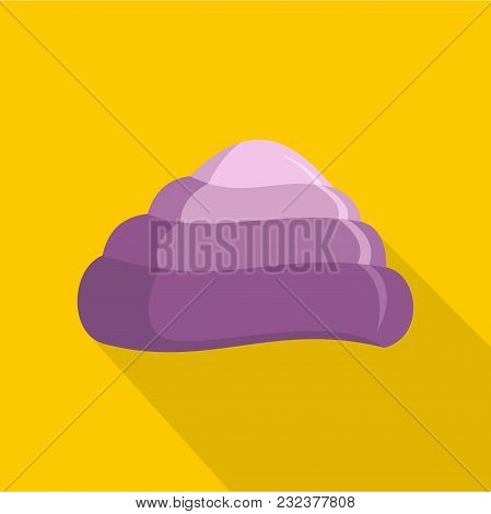 Ocean Shell Icon. Flat Illustration Of Ocean Shell Vector Icon For Web