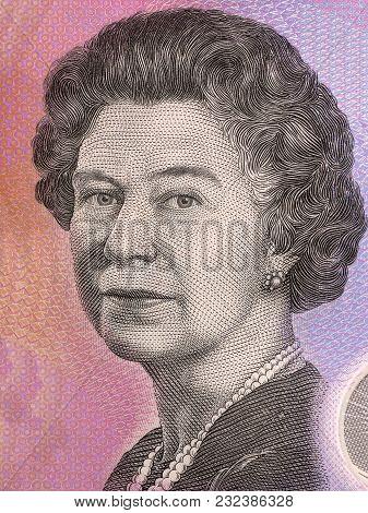Elizabeth Ii Portrait From Australian Money - Dollar