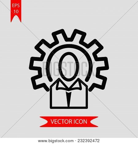 Technical Service Icon Vector In Modern Flat Style For Web, Graphic And Mobile Design. Technical Ser