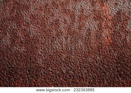 Hard Rusty Metal Texture Or Web Background